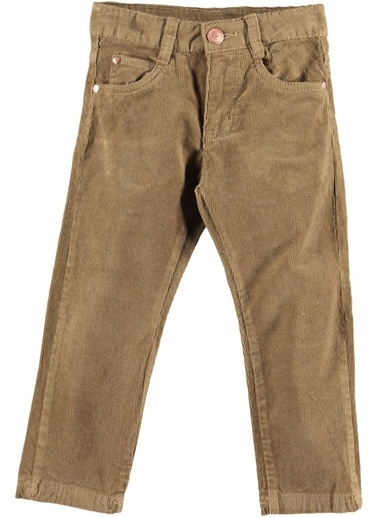 Fitil Kadife Pantolon-Asymmetry